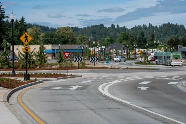 roundabout shot